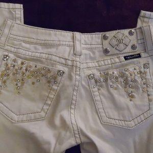 Miss Me White Jeans Skinny